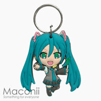 Hatsune Miku Rubber Keyring - Vocaloid Anime Girl Japan Key Chain Phone Charm