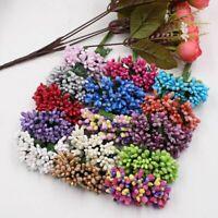 Mini Pearls Berry Artificial Stamens Flowers DIY Wreath Scrapbookings Crafts New