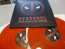 OST - Deadpool (Music By Tom Holkenborg Aka Junkie XL) 2LP RED Vinyl