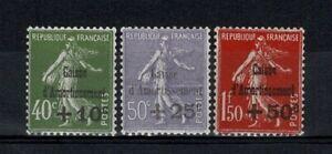 """FRANCE STAMP YVERT 275/77 SCOTT # B39-41 """" SINKING FUND 1931 SET """" MNH VF V531"""