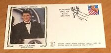 Mario Lemieux First Day Cover November 17, 1997 HOF Hall Of Fame Induction