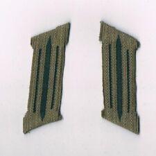Wehrmacht Kragenspiegel Einheitsfarbe Geformt WH WK2 Infanterie