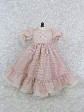 "*Vintage Full Dress for 18"" American Girl, 16"" Alexander, Antique, Repro Doll"