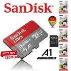 SanDisk ULTRA micro SD Speicherkarte 16 32 64 128 200 256 400 512 GB 1TB ADAPTER