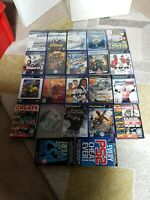 17 Sony Playstation 2 Game Bundle PS2 + Memory Card + Extras