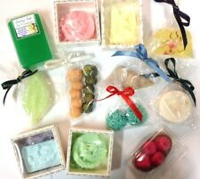 4 x Hand Crafted ARTISAN SOAP ART BODY BARS, No:Palm Oil, SLS, Exquisite Gifts