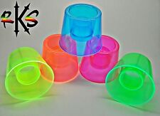 Neon Hurricane Jager Bomb Shot Glass- UV Reactive Power Bomber Shooter Cups