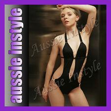 Aussie Teddy Monokini Bikini Swimming Cossie Swimsuit Swimwear Size 8 10 12