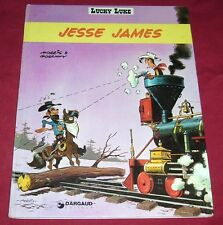 LUCKY LUKE - JESSE JAMES - MORRIS & GOSCINNY - DARGAUD