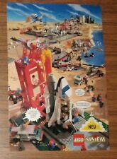 Publicidad rara sistema LEGO Town 6339 espacial la estación 6336 6544 1995
