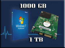 1TB Hard Drive 1000GB Wins7 Laptop Sony Vaio SR FW VGP-BPL13 VGP-BPS21 VGP-BPS13