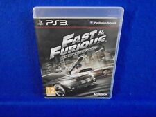 ps3 FAST & FURIOUS Showdown Heists Hijacks Mayhem Racing Playstation PAL UK