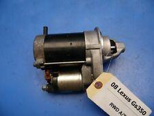 07-11 Lexus GS350 OEM electric starter motor 2WD Part # 28100-31070