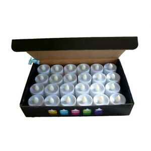 20 Led Flameless Candles Battery Operated Timer Flickering Candle Remote Lights