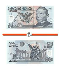 Mexico, 20 Pesos, 2003, Polymer, Serie W, Pick 116d.2, Unc