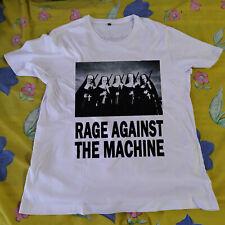 Vintage 1997 Rage Against The Machine Rock Metal Concert Tour T-Shirt Reprint