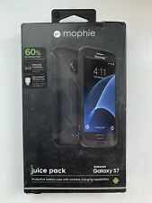 Mophie Juice Pack Protective Battery Case for Samsung Galaxy S7 Black