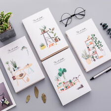 """""""Cat Plant"""" 1pc Big Sketchbook Drawing Notepad Blank Paper Notebook Study Diary"""