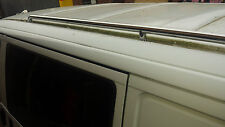 VW T4 32mm HIGH QUALITY MIRROR POLISHED 316 MARINE Stainless Steel Roof Bars