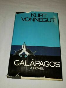 Galapagos by Kurt Vonnegut (1985) 1st Delacorte Trade Edition Hardcover Novel VG