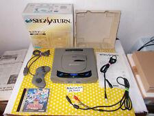 Console SEGA SATURN Japonaise en boite serial match + PARODIUS DELUXE PACK Jap !