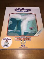 "Vintage 1980s Teddy Ruxpin Adventure Outfit ""Winter Outfit"" By WOW New In Box"