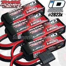 4-pack Traxxas 2823X 3S 11.1V 1400mAh 25C LiPo Battery iD Connector: 1/16 Summit