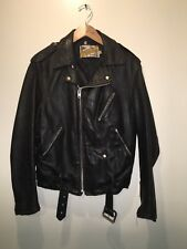 Schott Perfecto Leather Jacket Coat 618 vintage late 80's/early 90's (size 40)