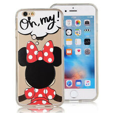 Disney Encantadora Pattern HD Fundas Suave TPU Para Huawei Apple Phone Case