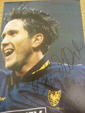 1990's Autograph: Wimbledon - Leonardson, Oyvind [Hand Signed Magazine Image, Ap