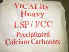 CHALK PAINT CALCIUM CARBONATE 5LB GROUND LIMESTONE POWDER CALCITE***NEW***