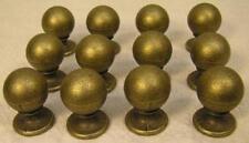 12 Brass knobs Handles Pulls Cabinet Furniture Hardware