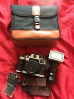 Olympia NK 3030 Advanced Camera - 35mm Vintage with Carry Case and Neck Strap