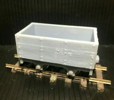 Gn15  Mineral/Mining Wagon Kit with optional wheelsets