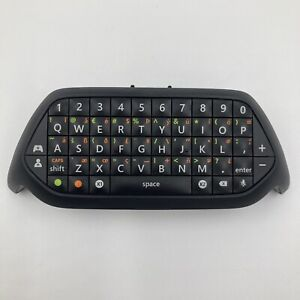 Official Microsoft Xbox One Black Chatpad / Keyboard - Excellent Condition