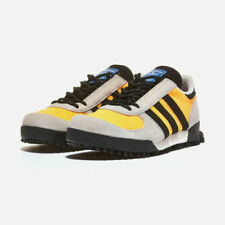 Adidas Marathon Trail Yellow Authentic Men's Running Shoes Sneakers FW9172