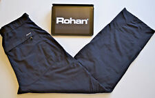 Rohan Womens Pants Trousers Upland Trekkers Outdoor Navy Blue Sz. W30 L32