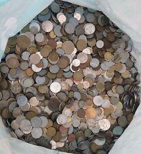 1KG Of Mixed World Coins, Foreign, Bulk, Job Lot, Bundle