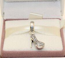 AUTHENTIC PANDORA Stiletto silver dangle with cubic zirconia, 791536CZ    #122