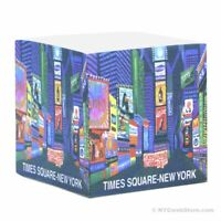 NYC Times Square Paper Cube - New York City Party Souvenir 3 Inches