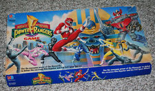 Mighty Morphin Power Rangers Board Game Vintage Milton Bradley Parts Board Book