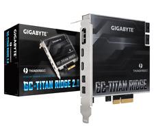Gigabyte GC-TITAN RIDGE rev. 2.0 Thunderbolt 3 PCI-Ex4 add on Card USB Type-C DP