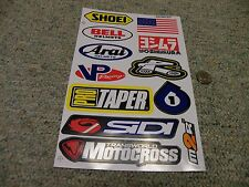 Decals / stickers R/C radio controlled Shoei Arai Bell Yoshimura ProTaper  M164