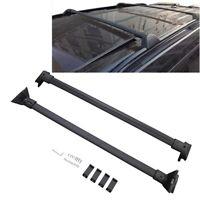 For 20-21 Ford Explorer Black Roof Rack Cross Bar OE STYLE Luggage Carrier Bar