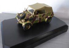 miniature VICTORIA R031 KUBELWAGEN type 82 1944 PANZER DIVISION camouflage WW2