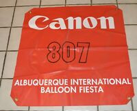 Vintage Albuquerque International Balloon Fiesta Gondola Banner Don Piccard