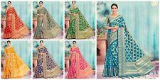Banarasi silk saree indian Designer Ethnic wear formal pakistani wedding sari AC