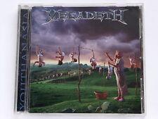 MEGADETH Youthanasia+4 TOCP-8397 JAPAN CD 124az61