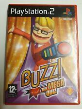 Buzz The Mega Quiz (Sony PlayStation 2) - UK Version