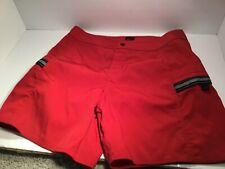 Men's Nike Swim Brifs Shorts Size 34 Red